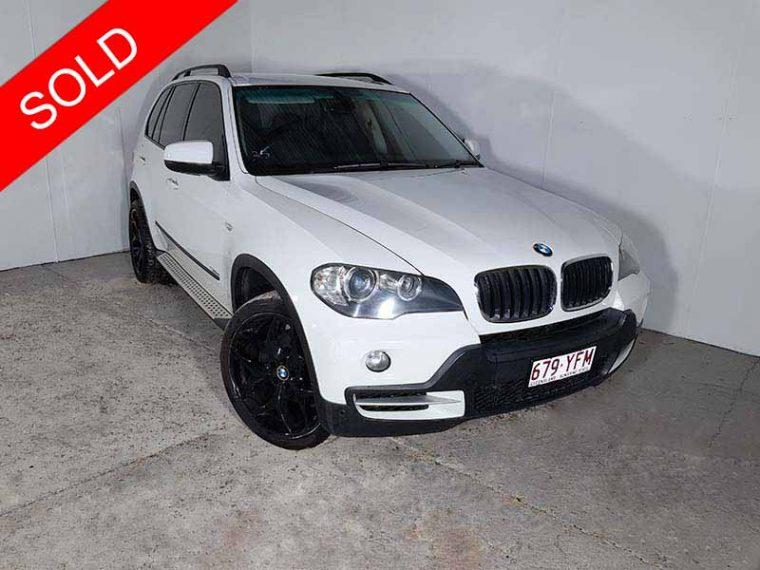 2008 BMW X5 E70 White