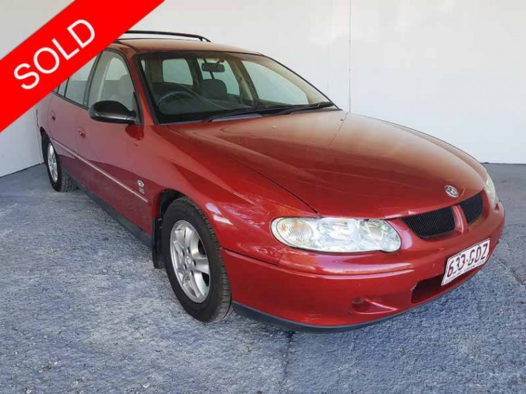 Automatic Holden Commodore Wagon 2001 Red