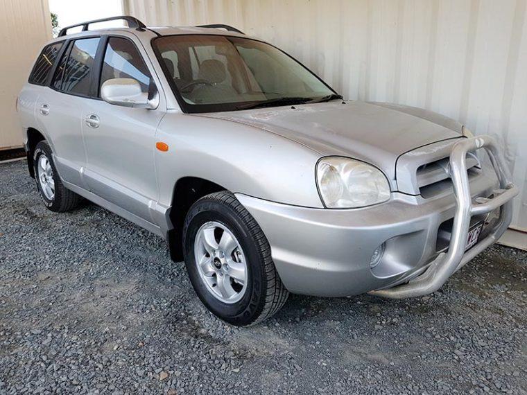 Hyundai Santa Fe 2005 Silver