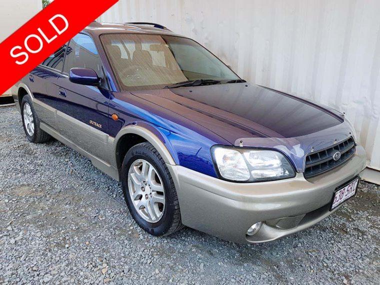 Subaru Outback Limited wagon 1999 Blue
