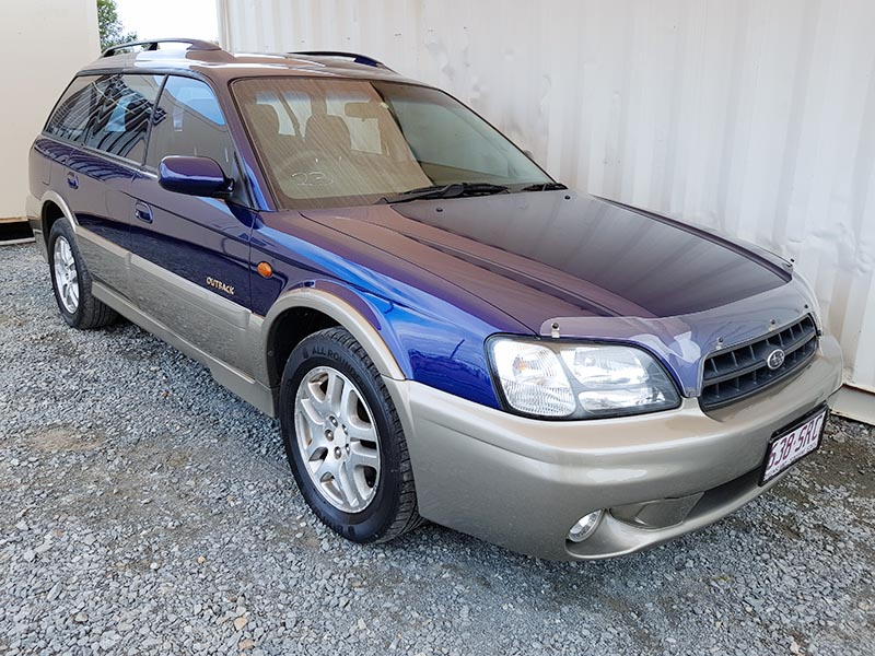 subaru outback limited wagon 1998 blue 1 used vehicle. Black Bedroom Furniture Sets. Home Design Ideas