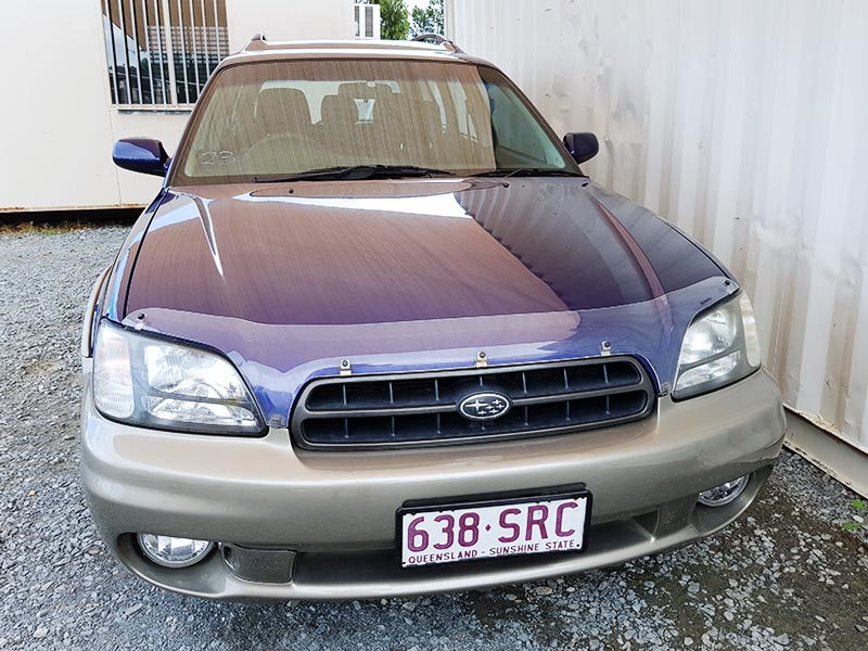 subaru outback limited wagon 1998 blue 2 used vehicle. Black Bedroom Furniture Sets. Home Design Ideas