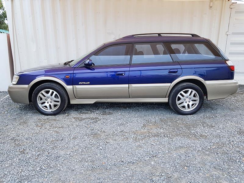 subaru outback limited wagon 1998 blue 4 used vehicle. Black Bedroom Furniture Sets. Home Design Ideas