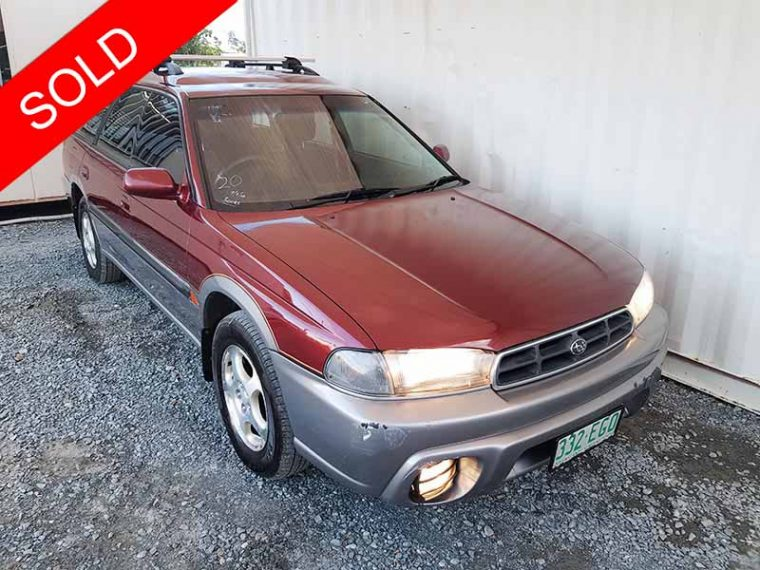 Subaru Outback Limited Wagon 1998 Red