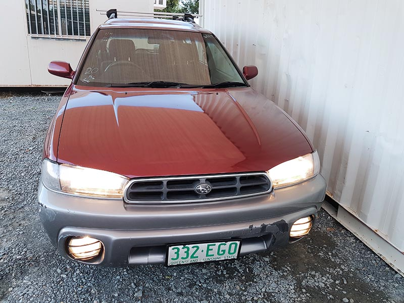 subaru outback limited wagon 1998 red 2 used vehicle sales. Black Bedroom Furniture Sets. Home Design Ideas