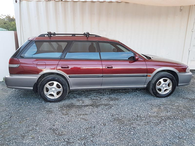 subaru outback limited wagon 1998 red 9 used vehicle sales. Black Bedroom Furniture Sets. Home Design Ideas