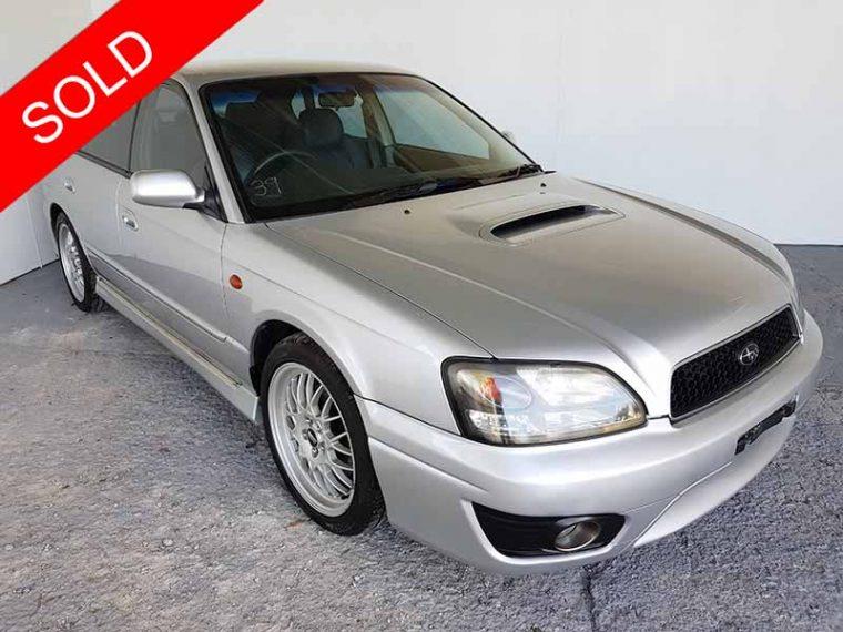 2001 Subaru Liberty B4 Silver Sedan