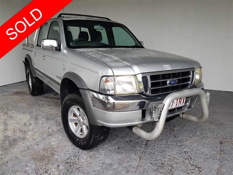 2005 Ford Courier Dual Cab Ute Silver