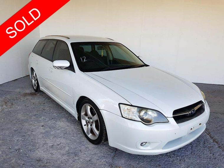 2006 Subaru Liberty Wagon White
