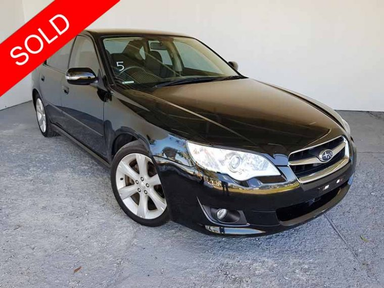 2007 Subaru Liberty Sedan Black