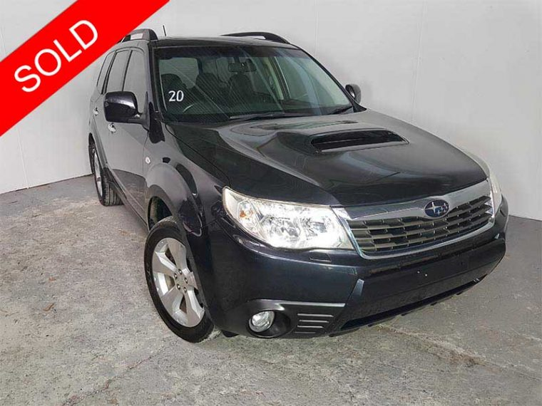 2009 Subaru Forester Black