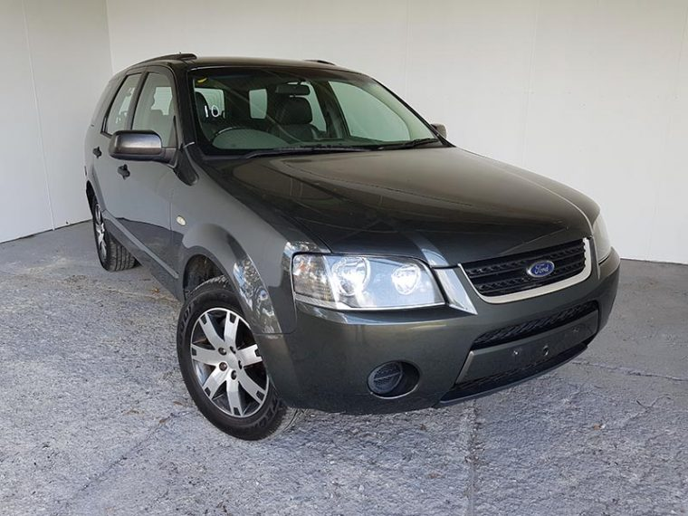 Automatic 7 Seat SUV Ford Territory 2008 Grey