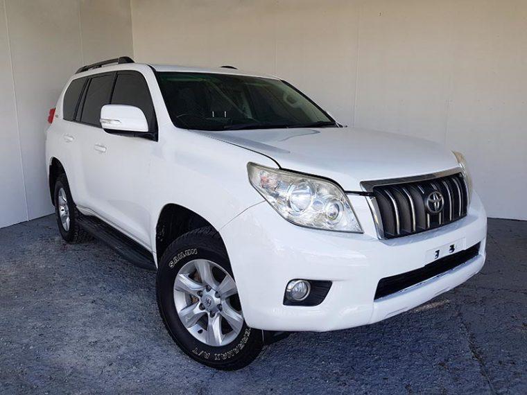 Toyota Landcruiser Prado GXL 2010 White