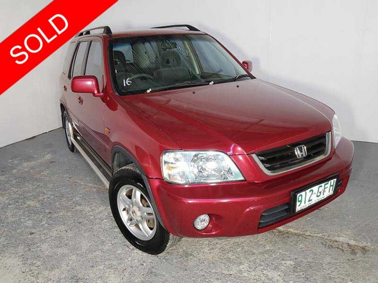 2001 Honda CR-V Red
