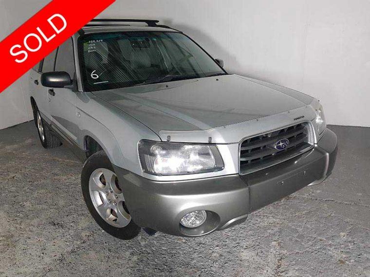 2004 Subaru Forester Silver