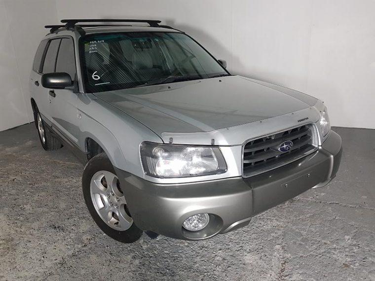 Subaru Forester XS AWD Wagon 2004 Silver