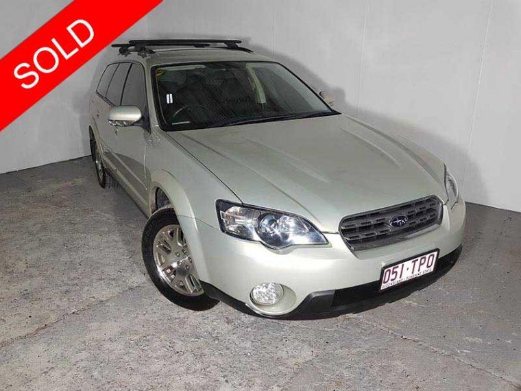2003 Subaru Outback Gold