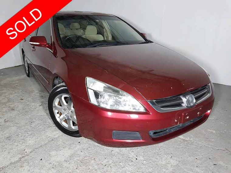 2004 Honda Accord Maroon