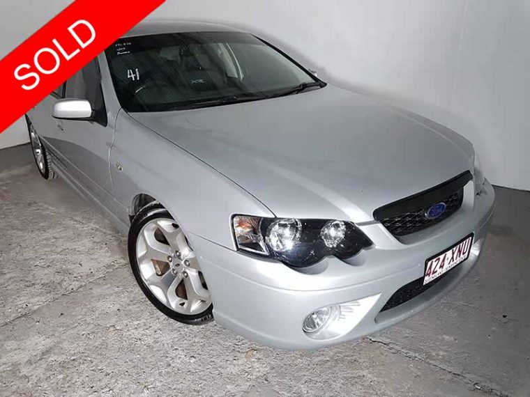 2007 Ford Falcon XR6 Silver