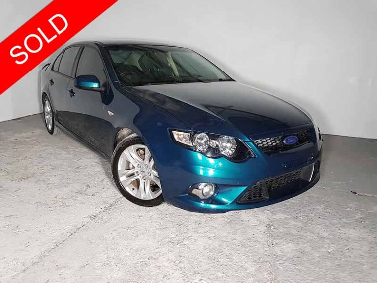 2010 Ford Falcon XR6 Green