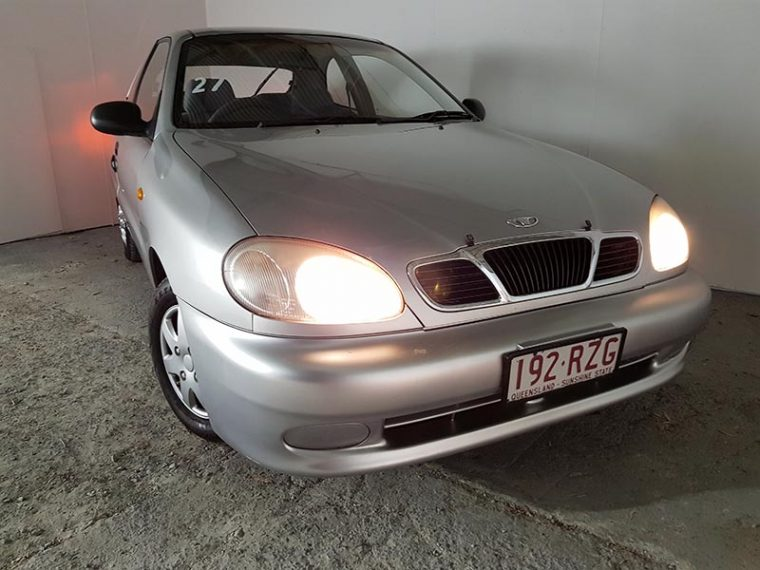 Automatic 3D Hatch Daewoo Lanos 2000 Silver
