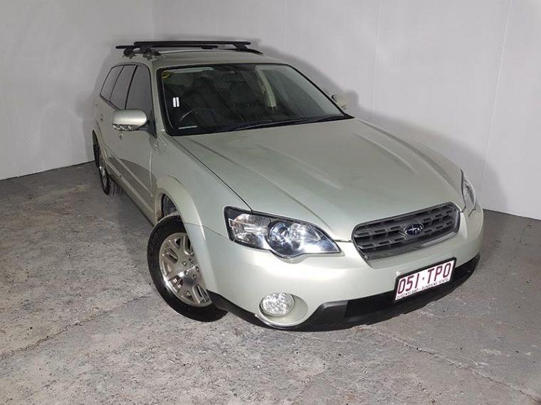 Automatic 4cyl Subaru Outback AWD Wagon 2003 Gold