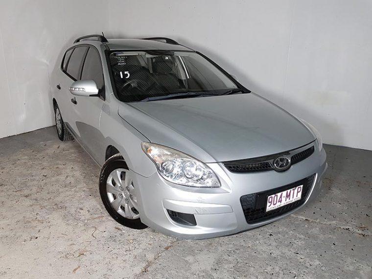 Automatic 4cyl Turbo Diesel Wagon Hyundai I30 2010 Silver