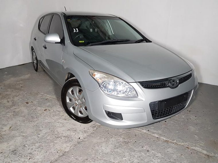 Automatic 5 Door Hatchback Hyundai I30 2007 Silver