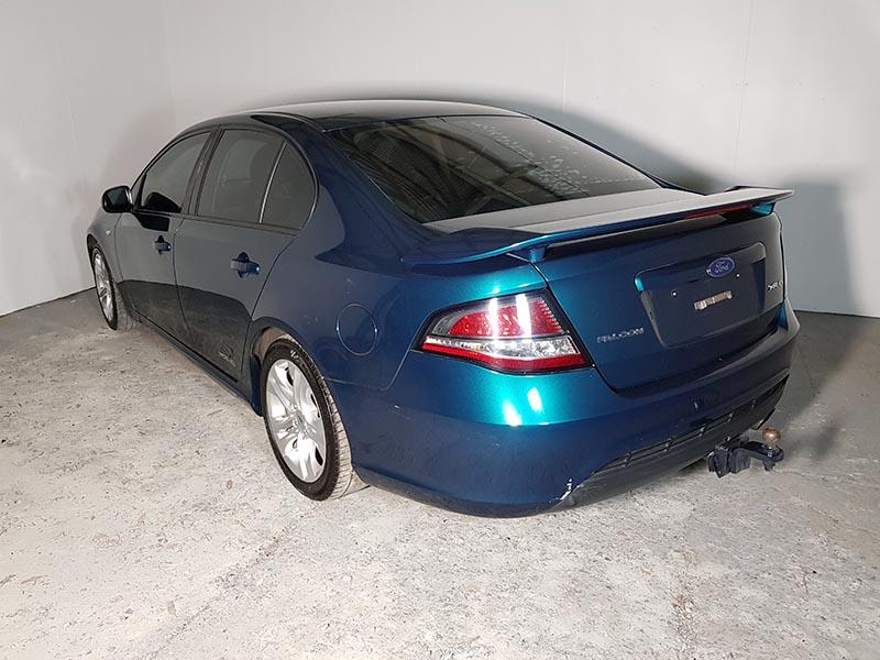 Automatic Ford Falcon FG XR6 Sedan 2010 Green - 5 - Used ...