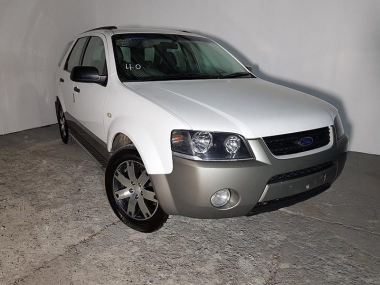 Automatic SUV Ford Territory 2007 White