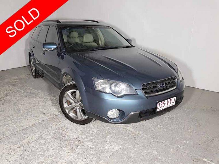 2004 Subaru Outback Blue