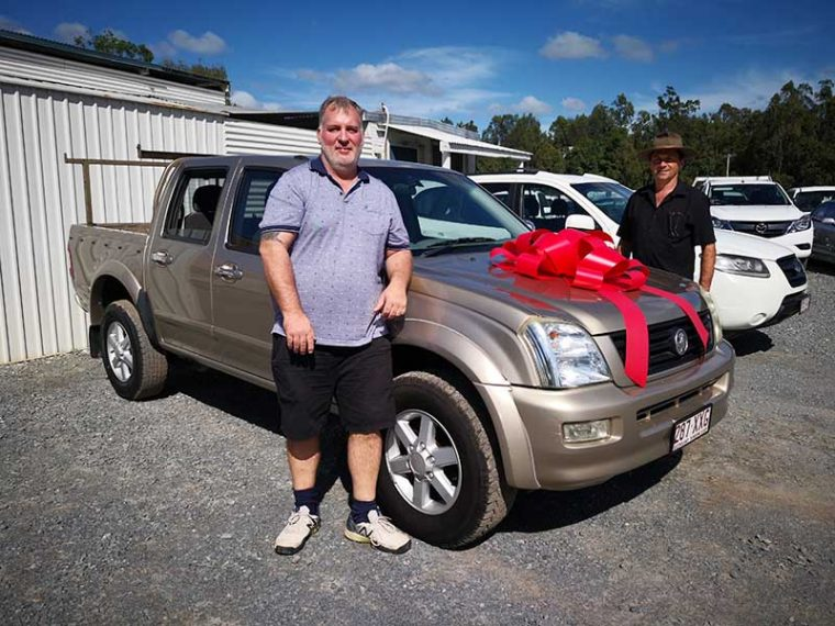 2005 Holden Rodeo Gold