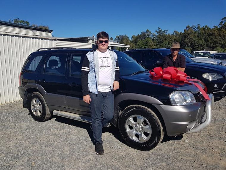 2005 Mazda Tribute Black