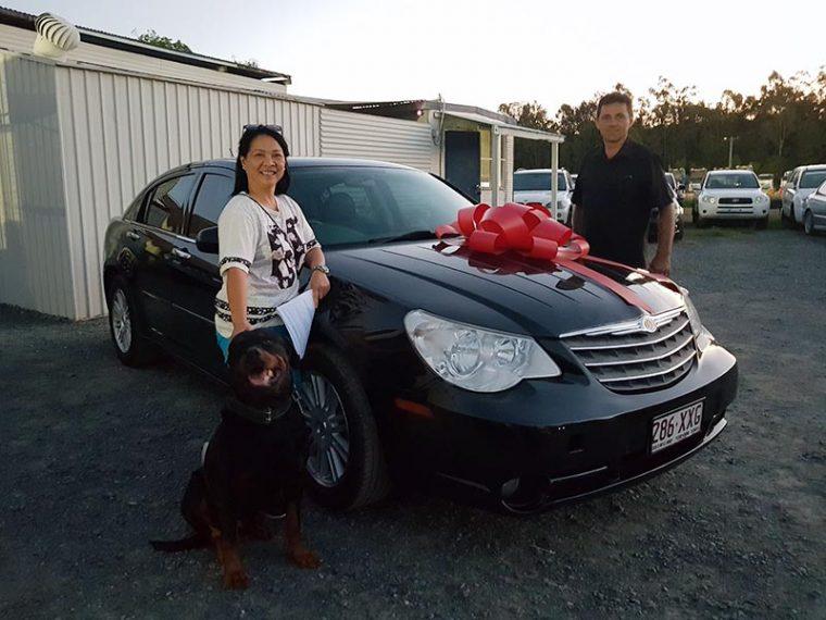2006 Chrysler Sebring Black