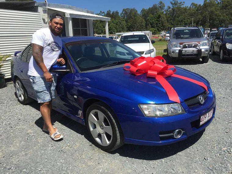 2006 Holden Commodore VZ Blue