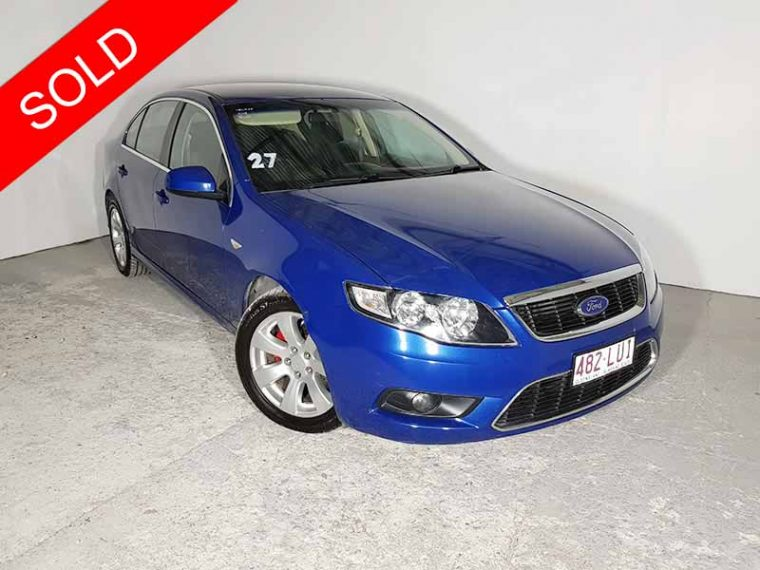 2008 Ford Falcon FG G6 Blue