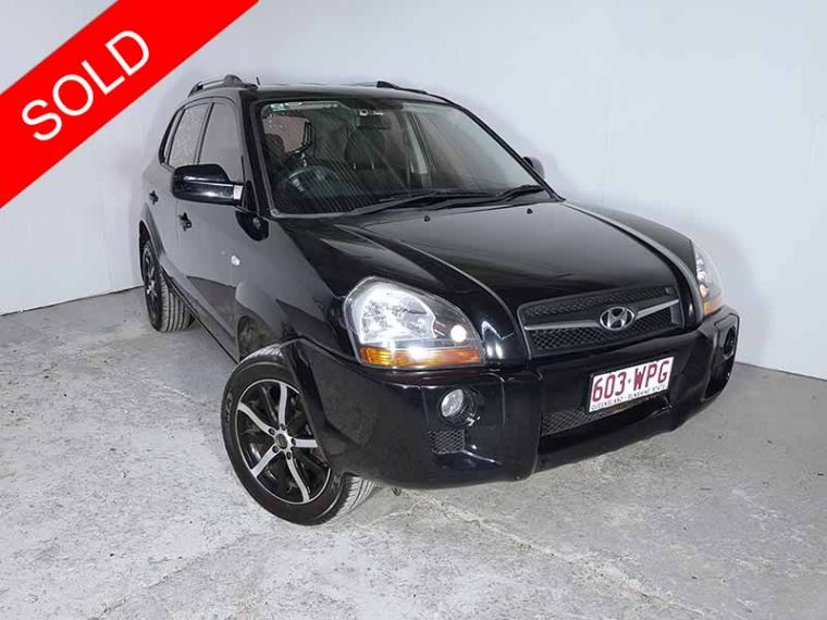 2009 Hyundai Tucson City Black