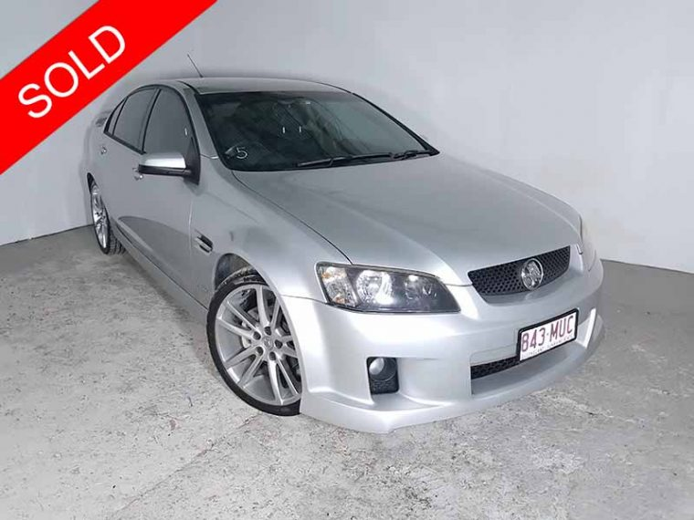 2010 Holden Commodore SV6 Silver