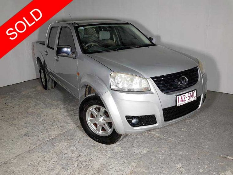 2011 Great Wall Ute Silver