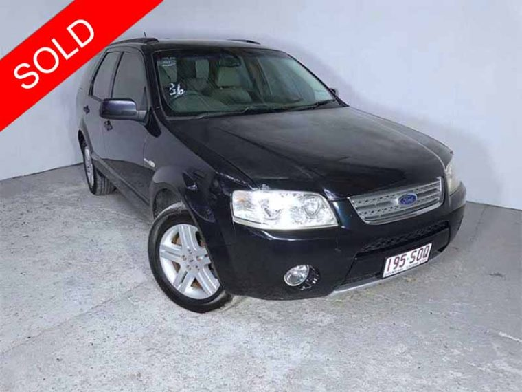 Automatic-AWD-SUV-Ford-Territory-Ghia-2007-Black