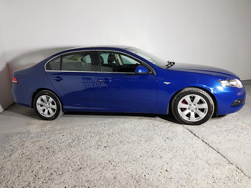 Sold Automatic Ford Falcon Fg G6 Sedan 2008 Blue Used Vehicle Sales