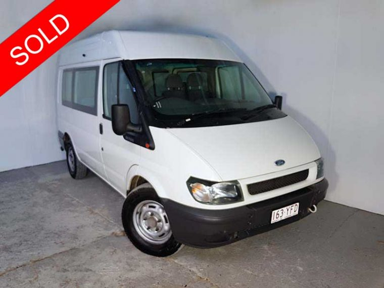 2003 Ford Transit Van White