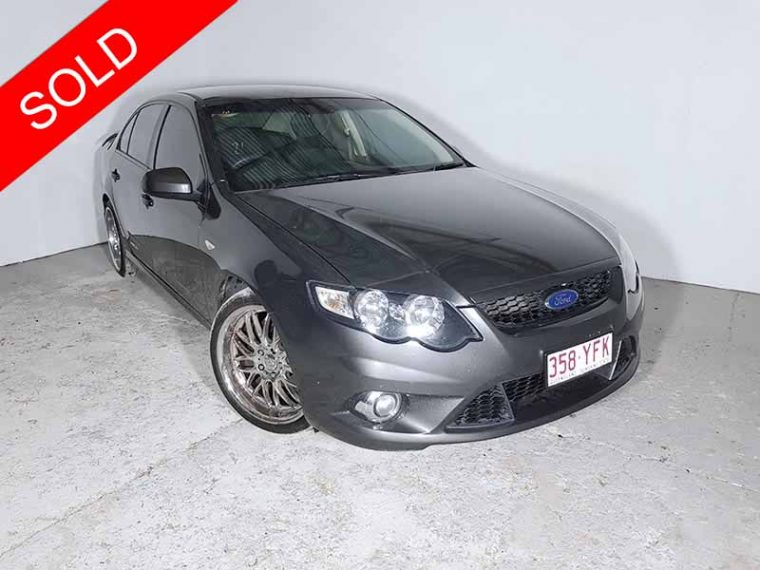 2009 Ford Falcon FG XR6 Grey
