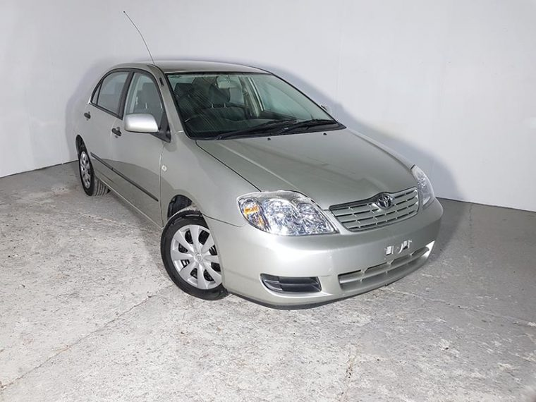Automatic 4cyl Sedan Toyota Corolla Ascent Sedan 2005 Silver