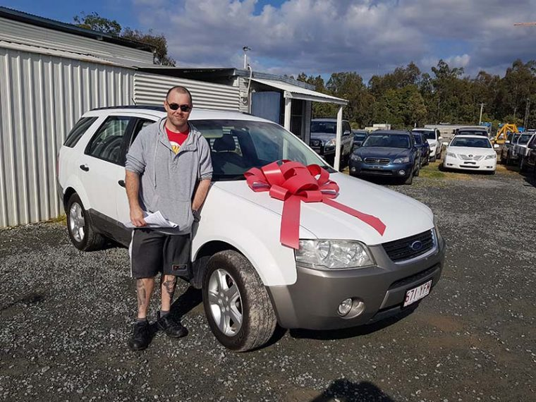 2005 Ford Territory White