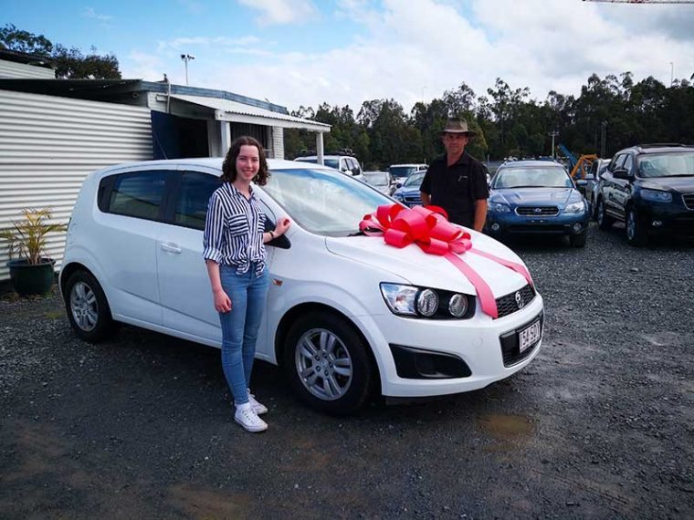 2012 Holden Barina White