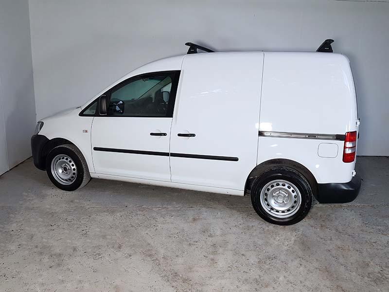 Turbo Petrol Volkswagen Caddy Runner SWB Van 2014 White - 4 - Used ...