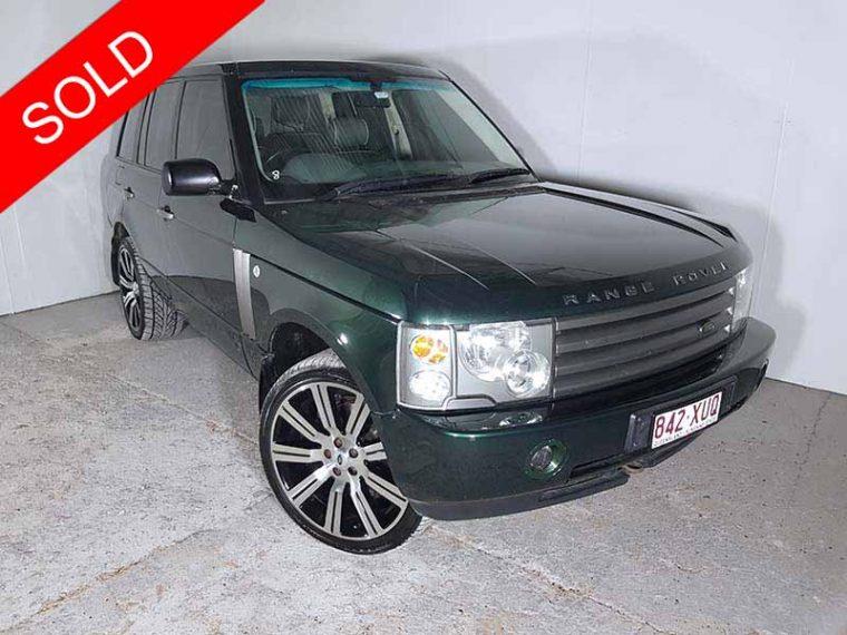 2004 Land Rover Range Rover Green