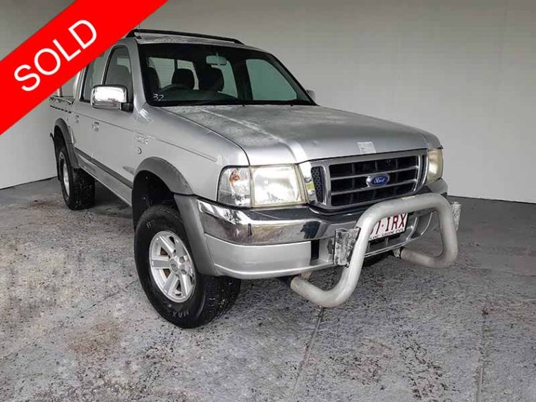 2005 Ford Courier Silver Ute