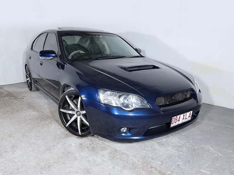 Automatic Turbo Subaru Liberty GT AWD 2004 Blue